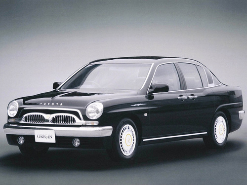 Фото автомобиля Toyota Origin 1 поколение, ракурс: 45