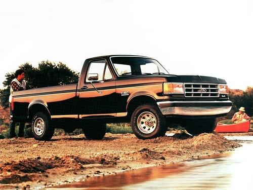 Фото автомобиля Ford F-Series 8 поколение, ракурс: 315