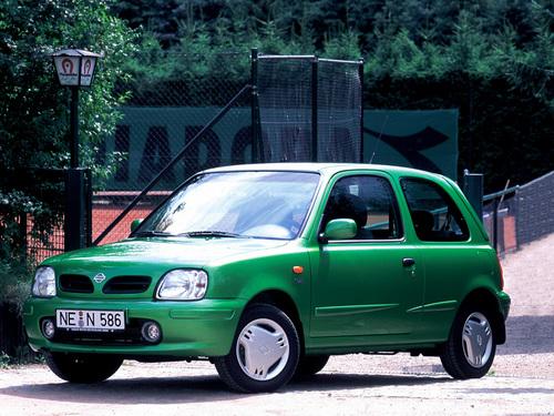 Фото автомобиля Nissan Micra K11B [рестайлинг], ракурс: 45