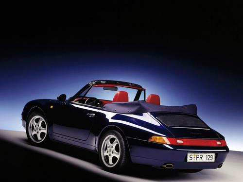 Фото автомобиля Porsche 911 993, ракурс: 135