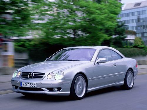 Фото автомобиля Mercedes-Benz CL-Класс C215, ракурс: 45