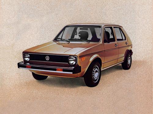 Фото автомобиля Volkswagen Rabbit 1 поколение, ракурс: 45