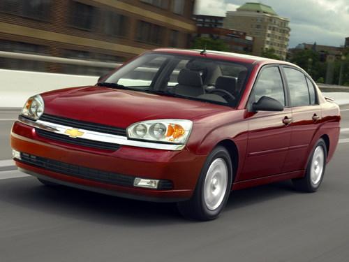 Фото автомобиля Chevrolet Malibu 3 поколение, ракурс: 45