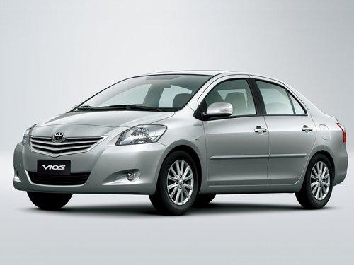 Фото автомобиля Toyota Vios 2 поколение [рестайлинг], ракурс: 45