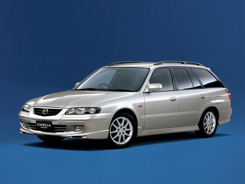 Фото автомобиля Mazda Capella 7 поколение, ракурс: 45