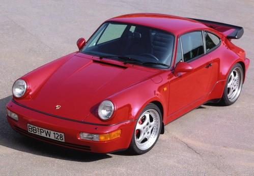 Фото автомобиля Porsche 911 964, ракурс: 45