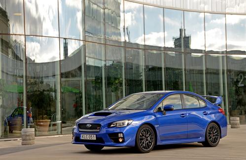 Фото автомобиля Subaru Impreza 4 поколение [рестайлинг], ракурс: 45 цвет: синий
