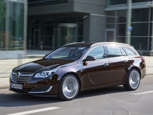 Фото автомобиля Opel Insignia A [рестайлинг], ракурс: 45 цвет: коричневый