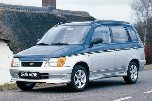 Фото автомобиля Daihatsu Gran Move 1 поколение, ракурс: 45