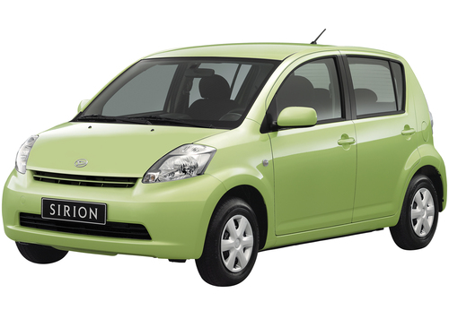 Фото автомобиля Daihatsu Sirion 2 поколение, ракурс: 315