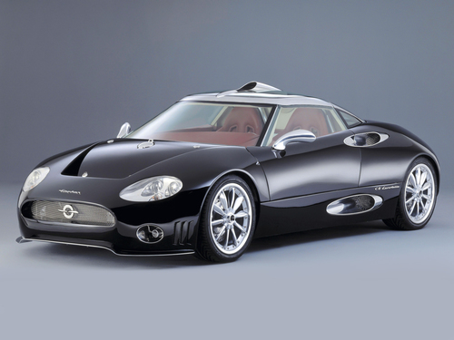 Фото автомобиля Spyker C8 1 поколение, ракурс: 45 цвет: черный