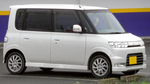 Фото автомобиля Daihatsu Tanto 1 поколение, ракурс: 45