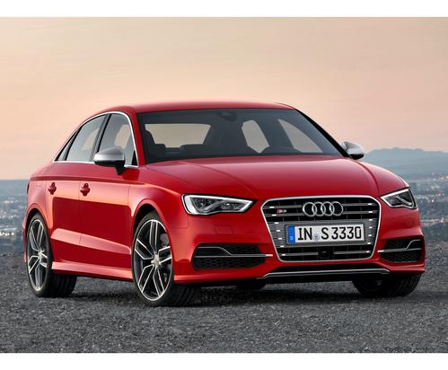 Фото автомобиля Audi S3 8V, ракурс: 315 цвет: красный