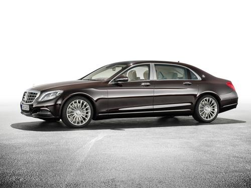 Фото автомобиля Mercedes-Benz S-Класс W222/C217/A217, ракурс: 45 цвет: бордовый
