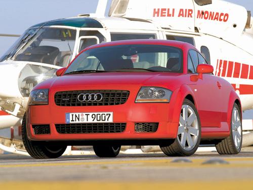 Фото автомобиля Audi TT 8N [рестайлинг], ракурс: 45