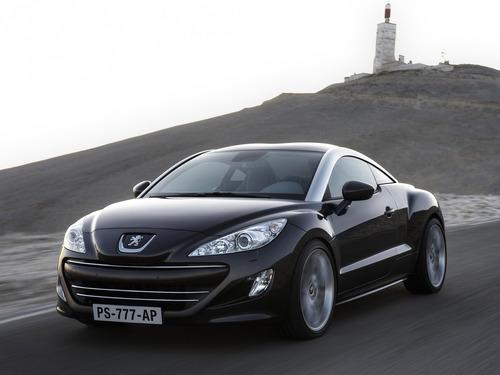 Фото автомобиля Peugeot RCZ 1 поколение, ракурс: 45 цвет: черный
