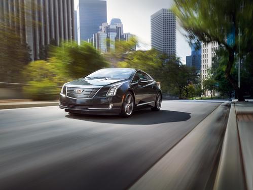 Фото автомобиля Cadillac ELR 1 поколение [рестайлинг], ракурс: 45 цвет: бежевый