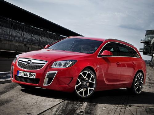 Фото автомобиля Opel Insignia A, ракурс: 45 цвет: красный