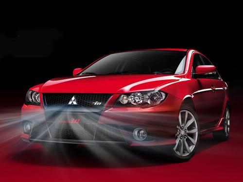 Фото автомобиля Mitsubishi Lancer X, ракурс: 45