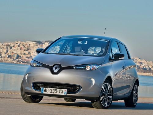 Фото автомобиля Renault Zoe 1 поколение, ракурс: 45