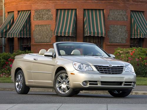 Фото автомобиля Chrysler Sebring 3 поколение, ракурс: 315