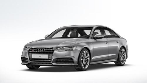 Фото автомобиля Audi S6 C7 [рестайлинг], ракурс: 45 цвет: серый