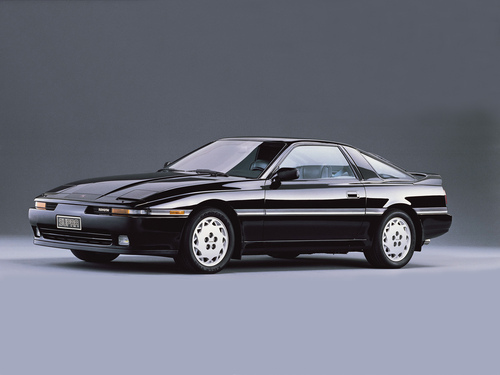Фото автомобиля Toyota Supra Mark III [рестайлинг], ракурс: 45