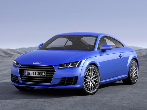 Фото автомобиля Audi TT 8S, ракурс: 45 цвет: синий