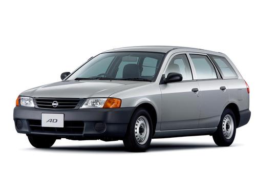 Фото автомобиля Nissan AD Y11, ракурс: 45 цвет: серебряный
