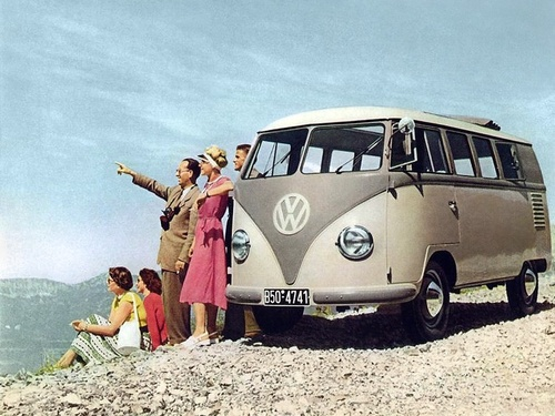 Фото автомобиля Volkswagen Transporter T1, ракурс: 45