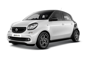 Авто Smart Forfour, 2016 года выпуска, цена 1 111 350 руб., Москва