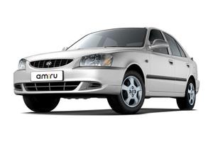 Автомобиль Hyundai Accent, хорошее состояние, 2000 года выпуска, цена 150 000 руб., Копейск