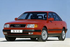 Подержанный автомобиль Audi 100, хорошее состояние, 1991 года выпуска, цена 120 000 руб., Костромская область