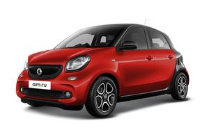 Авто Smart Forfour, 2016 года выпуска, цена 1 214 655 руб., Москва