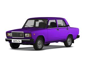 Подержанный автомобиль ВАЗ (Lada) 2107, среднее состояние, 2002 года выпуска, цена 40 000 руб., Челябинск