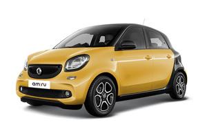 Авто Smart Forfour, 2016 года выпуска, цена 1 014 720 руб., Москва