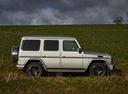 Фото авто Mercedes-Benz G-Класс W463 [3-й рестайлинг], ракурс: 270 цвет: серебряный