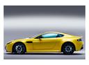 Фото авто Aston Martin Vantage 3 поколение [2-й рестайлинг], ракурс: 90 - рендер цвет: желтый