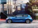 Фото авто BMW 1 серия F20/F21, ракурс: 90 цвет: синий