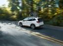 Фото авто Subaru Forester 5 поколение, ракурс: 135 цвет: белый