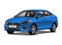 Новый Hyundai Solaris, голубой , 2017 года выпуска, цена 809 900 руб. в автосалоне