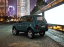 Фото авто ВАЗ (Lada) 4x4 1 поколение [2-й рестайлинг], ракурс: 135 цвет: синий
