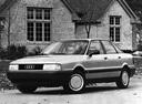 Фото авто Audi 80 8A/B3, ракурс: 45 цвет: серебряный