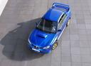 Фото авто Subaru Impreza 2 поколение [2-й рестайлинг], ракурс: сверху цвет: синий