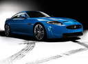 Фото авто Jaguar XK X150 [2-й рестайлинг], ракурс: 315 цвет: синий