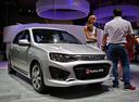 Фото авто ВАЗ (Lada) Kalina 2 поколение, ракурс: 315 цвет: серебряный