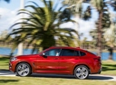 Фото авто BMW X4 G02, ракурс: 90 цвет: красный