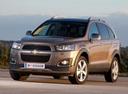 Фото авто Chevrolet Captiva 1 поколение [2-й рестайлинг], ракурс: 45 цвет: коричневый