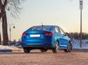 Фото авто Hyundai Solaris 2 поколение, ракурс: 180 цвет: синий