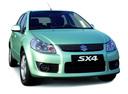 Фото авто Suzuki SX4 1 поколение,  цвет: серебряный